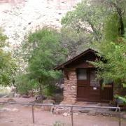 Ranger quarters at Cottonwood Camp