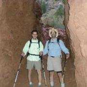 David and Brad in Supai Tunnel